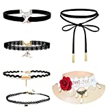 Best Necklaces 6 Piece - Romp Fashion 6 Pieces Black & White Stylish Review