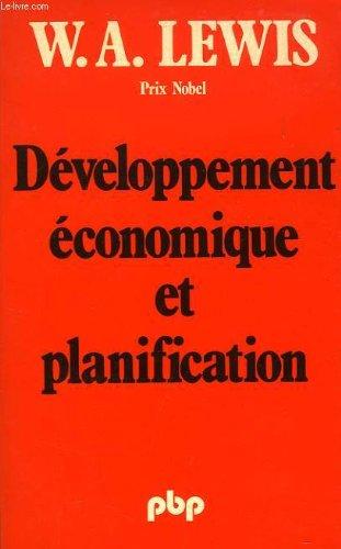 Développement économique et planification par William Arthur Lewis