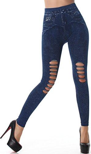 SL1 - Legging de sport - Skinny - Femme (5) Dunkelblau