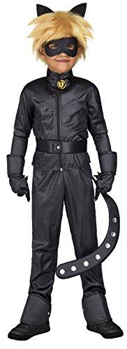 Imagen de yiija fast fun  disfraz cat noir, 6 8 años viving costumes 231151