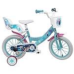 Frozen-bicicletta-da-bambina-motivo-Frozen-356-cm-casco-incluso