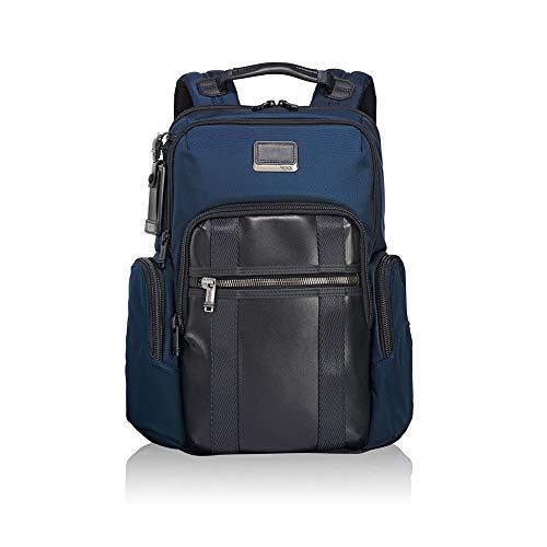 TUMI Alpha Bravo - Nellis Laptop Backpack 15' Mochila tipo casual, 40 cm, 22.28 liters, Azul (Navy)