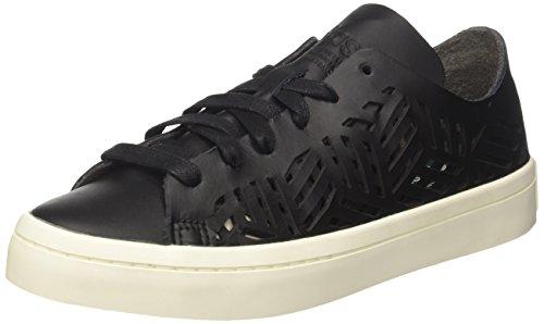 adidas Courtvantage Cutout W, Scarpe da Tennis Donna, Nero Core Black/off White, 39 1/3 EU
