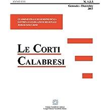 Le Corti Calabresi - Fascicoli 1/2/3 - 2017