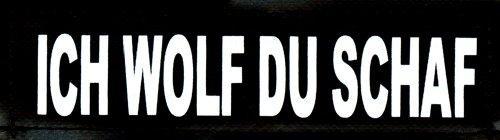 ich-wolf-du-schaf-2xlogos-klein-weiss-reflektierend-fur-julius-k9r-logo-klettlogo-austauschlogo-k-9-