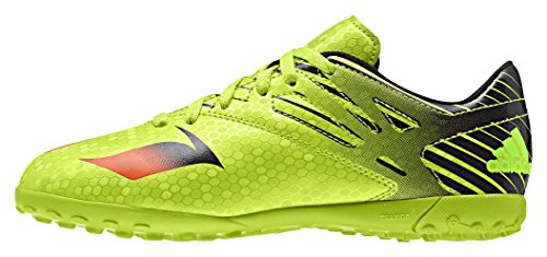 adidas Unisex Kids' Messi 15.4 Tf J football Shoes, Multicolored (Green/Red/Black), 1...