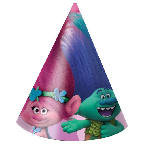 birthday-hat-originalofficial-licenced-dreamworks-trolls-cone-hats-pack-of-6