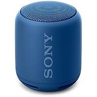 Sony SRS-XB10 Tragbarer, kabelloser Lautsprecher (Bluetooth, NFC, Extra Bass, waaserabweisend, 16 Stunden Akkulaufzeit) blau
