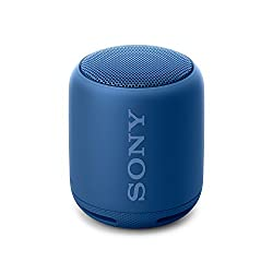 Sony SRS-XB10 Tragbarer kabelloser Lautsprecher (Bluetooth, NFC, Extra Bass, wasserabweisend, 16 Stunden Akkulaufzeit) blau
