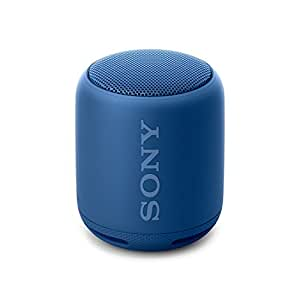 Sony SRS-XB10 Altoparlante Wireless Portatile, Extra Bass, Bluetooth, NFC, Resistente all'Acqua IPX5, Blu