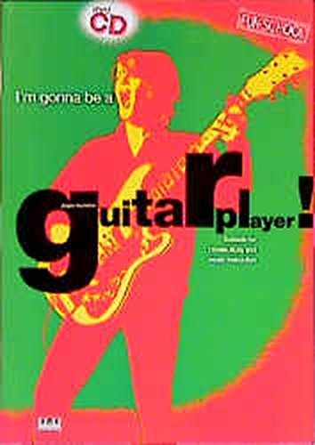 I'm Gonna be a Guitar Player! (Guitar Solo with Free Audio CD) by Jurgen Kumlehn (1998-01-01)