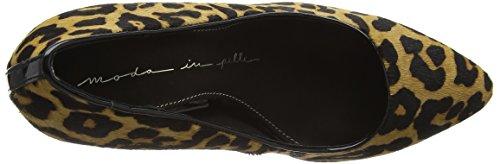 Moda In Pelle - Ceisa, Scarpe col tacco Donna Marrone (Brown (Leopard))