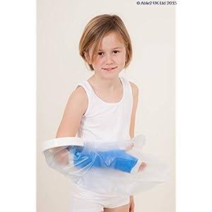 Aquarius Atlantis Wasserdicht Badewanne und Dusche Cast Verband und Verband Displayschutzfolie–Kind Arm kurz