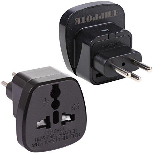Kleine Us-power-adapter (Generic Universal US UK EU die Schweiz Schweizer AC Power Plug Travel Adapter Konverter 2-er Pack))