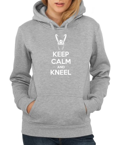 Loki Hoodie - - Keep Calm and Kneel -
