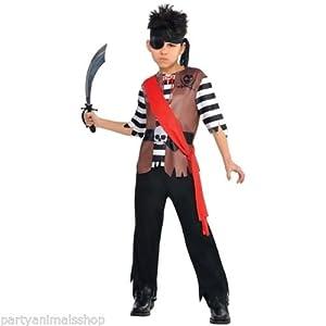 Christys London Disfraz de pirata Jack para niños y adolescentes en varias tallas