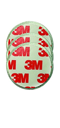 Mini 3er Magnetpad Set zur Befestigung von Mini Rauchmeldern 3M Premium selbstklebend