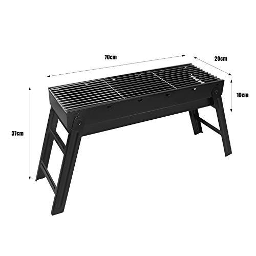 Zoom IMG-1 sunjas barbecue a carbonella pieghevole