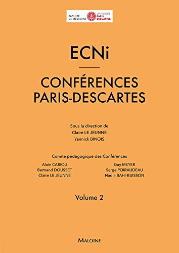 ECNi : Conférences Paris-Descartes Volume 2 par Collectif