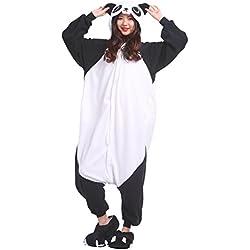 AKAAYUKO Unisex-Adulto Onesies Kigurumi Panda Animal Pijama Tamaño M