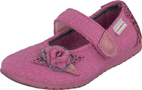 Giesswein Mädchen St.Margarethen Hausschuhe Pink (Orchidee)