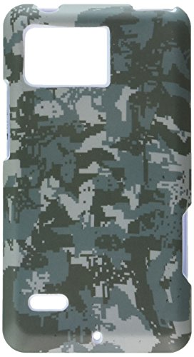 MyBat Schutzhülle für Motorola XT875 Droid Bionic Lizzo (Einzelhandelsverpackung), Digital Camo/Grün -