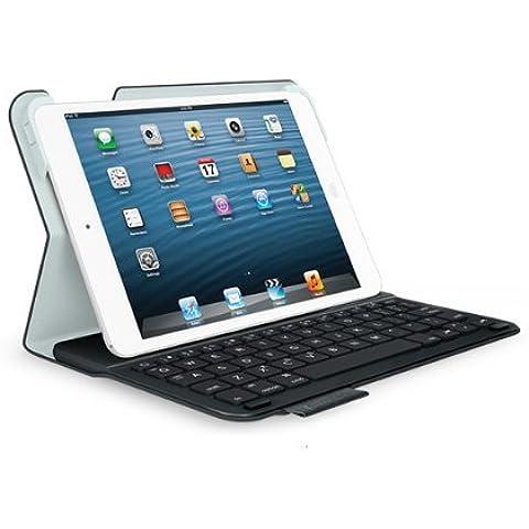 Logitech Ultrathin Keyboard QUERTZ Folio f/ iPad mini - Funda (149 mm, 19.3 mm, 215 mm)