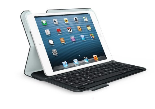 Logitech Ultrathin Keyboard Folio m1 for iPad mini Black (QWERTZ, deutsches Tastaturlayout)