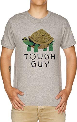 Tough Guy Herren T-Shirt Grau
