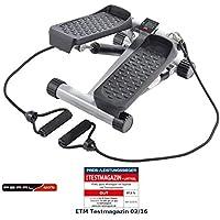 Preisvergleich für PEARL sports Stepper: Ministepper mit Expander und Trainingscomputer (Mini Stepper)