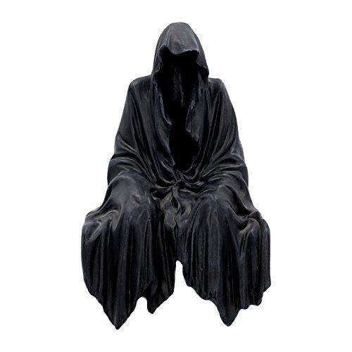 Kantenhocker Reaper Skull Horror Gothic Halloween Dekoration Sensemann -