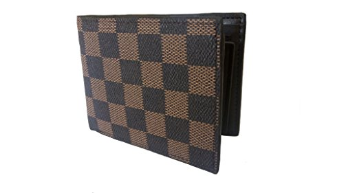 Just Click Fashion Brown Genuine Leather Wallet For Men's  available at amazon for Rs.499