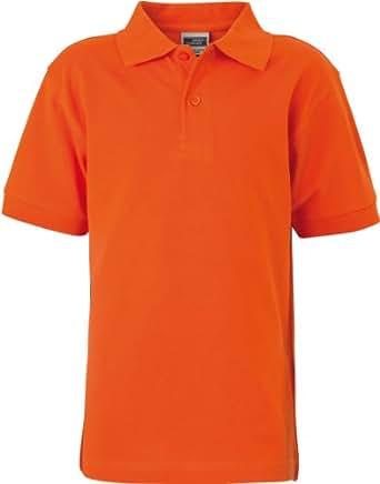 James & NicholsonHerren Poloshirt dark-orange