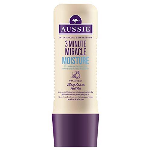 Intensivkur Lotion (Aussie 3Minute Miracle Moist Intensivkur 1er Pack (1 x 250 ml))
