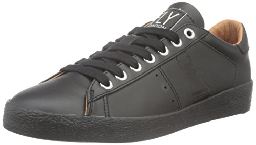 Fly London Berg823fly, Scarpe da Ginnastica Basse Donna Nero (Black)