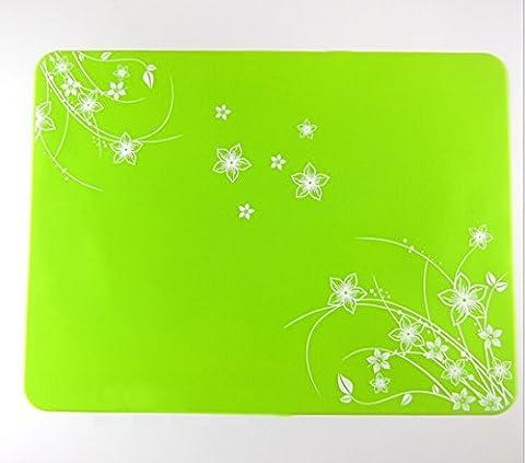 Kuke Multipurpose Printing Design Silicone Pot Holder Waterproof Baking Mat Non Stick Placemat