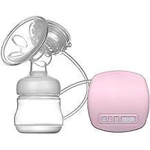 Anself - Sacaleches eléctrico con cojín masajeador,BPA-libre,portátil y práctico con cable usb