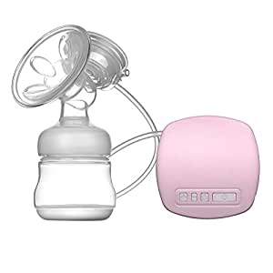 Anself Salute singolo privo di BPA tiralatte elettrico pompa seno confortevole pratico Reliever con bottiglia e pompa portatile semplice latte capezzolo con cavo USB