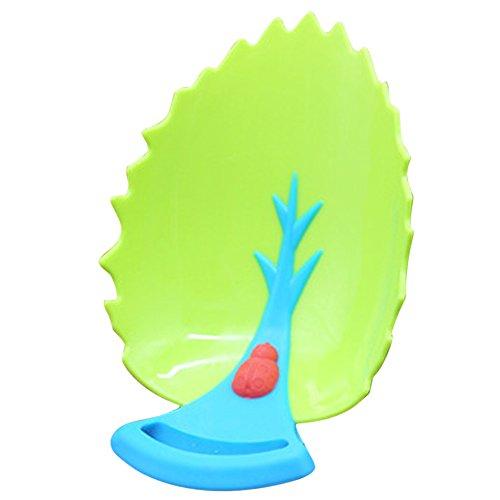 nelnissa Leaf Design Wasserhahn Extender Kids Kinder Hand Wash Leitungswasser Guide Werkzeug