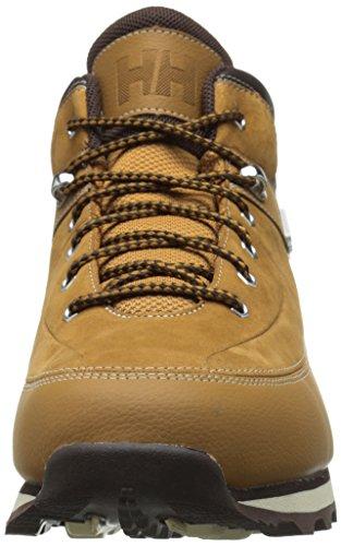 Helly Hansen Tryvann 534, Stivali da Escursionismo Uomo Beige (Bone Brown/Coffe Bean)