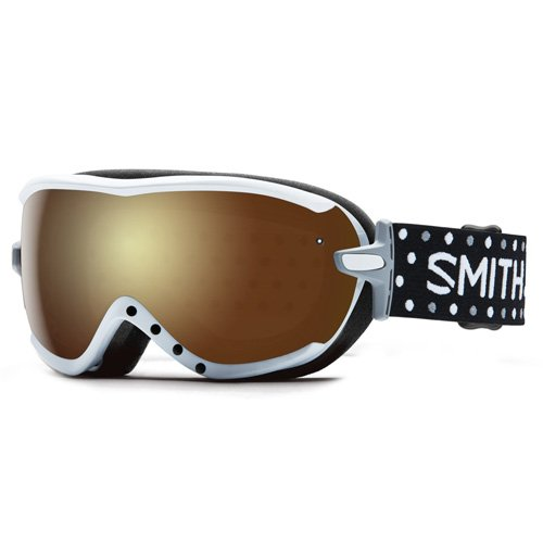 Smith Damen Virtue SPH Skibrille, Gold Sol-X Mirror/Schwarz/Weiß, One Size