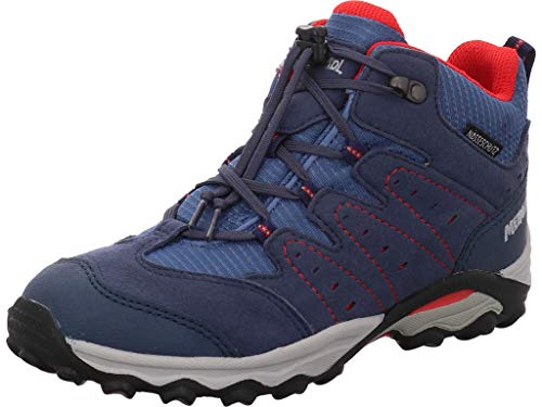 Meindl bambini scarpe da trekking, Ragazzo, 2094-29 Tuam Junior, Blau, 38