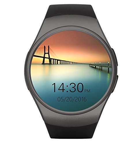 Smartwatch Android Uhr Phone Uhr 1,5 Zoll IPS Round Touch Screen Support SIM Intelligente Watch mit/Kamera/Schrittzähler/Schlaftracker for IOS Android Samsung HTC Sony LG Xiaomi Huawei ZUK