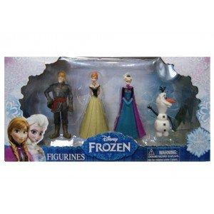 Disney - Disney 1310470 Frozen pack de 4 figuras