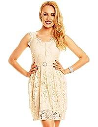 ba265d5e6231 Mayaadi Spitzenkleid Ballkleid Abendkleid Partykleid Festkleid Cocktailkleid  Blumenmuster HS-311