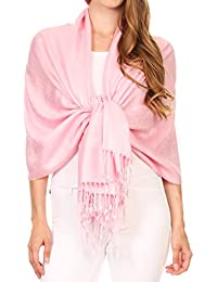 Sakkas Soft Pashmina Feel Paisley Design Schal / Stola >20 Farben