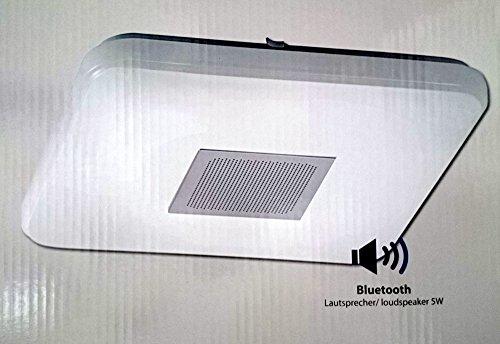 LED Decken Leuchte Flur Strahler Bluetooth Lautsprecher Fernbedienung CCT Paul Neuhaus 8070-16