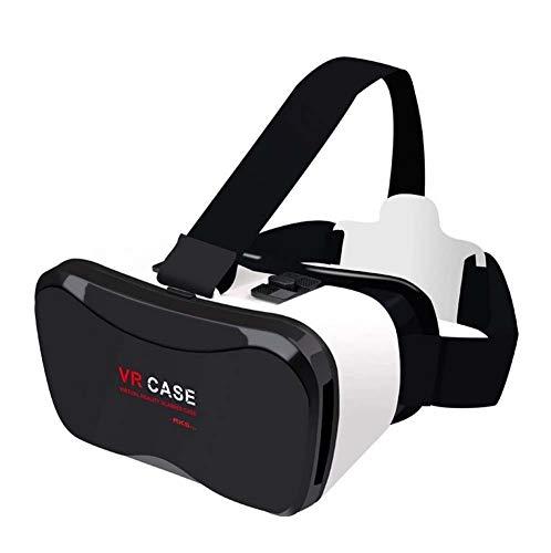 QIDUll VR-Headset, 4D VR-Brille Virtual Reality Box mit Verstellbarer Linse und komfortablem Tragegurt für 3D-Filme und -Spiele, kompatible 4,7 \'\' - 6 \'\' Smartphones