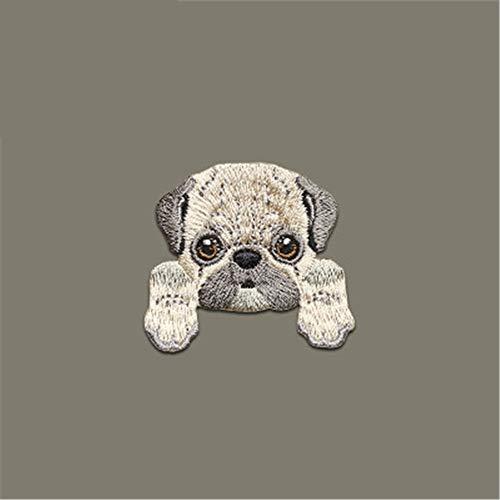 FFDGHB Lindo Parche De Cachorro Planchado En Insignia