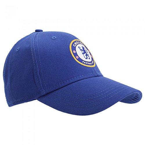Gorra oficial del Chelsea FC Unisex – Futbol/ Inglaterra/ Champion league (Talla Única/Azul)